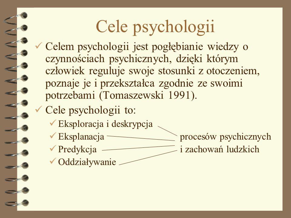Cele psychologii