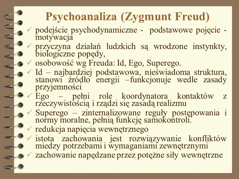 Psychoanaliza (Zygmunt Freud)