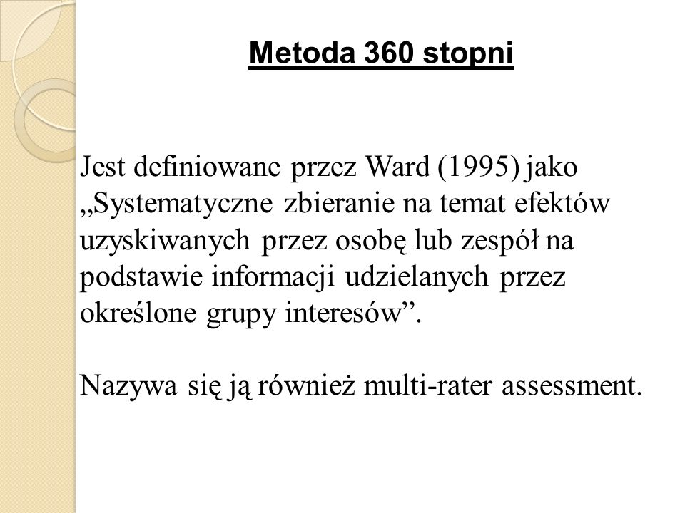 Metoda 360 stopni