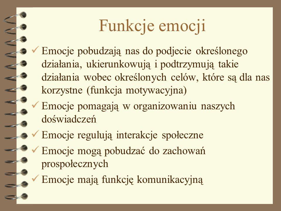 Funkcje emocji