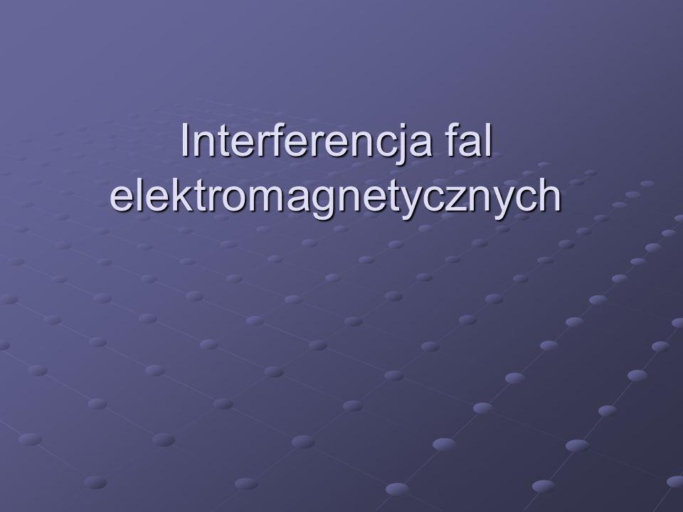 Interferencja fal elektromagnetycznych