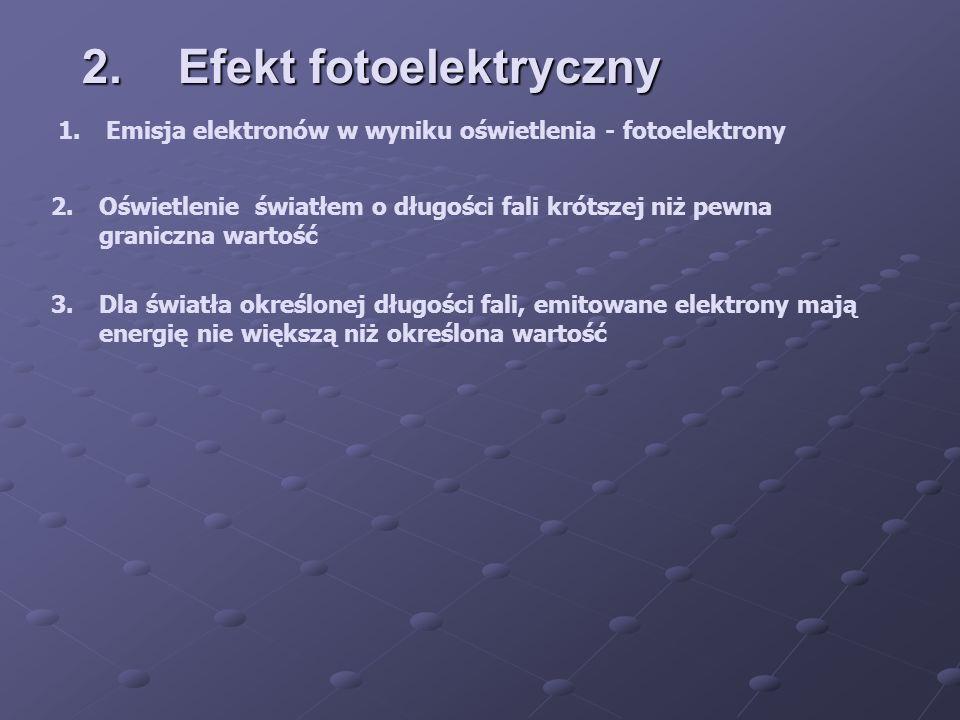 2. Efekt fotoelektryczny