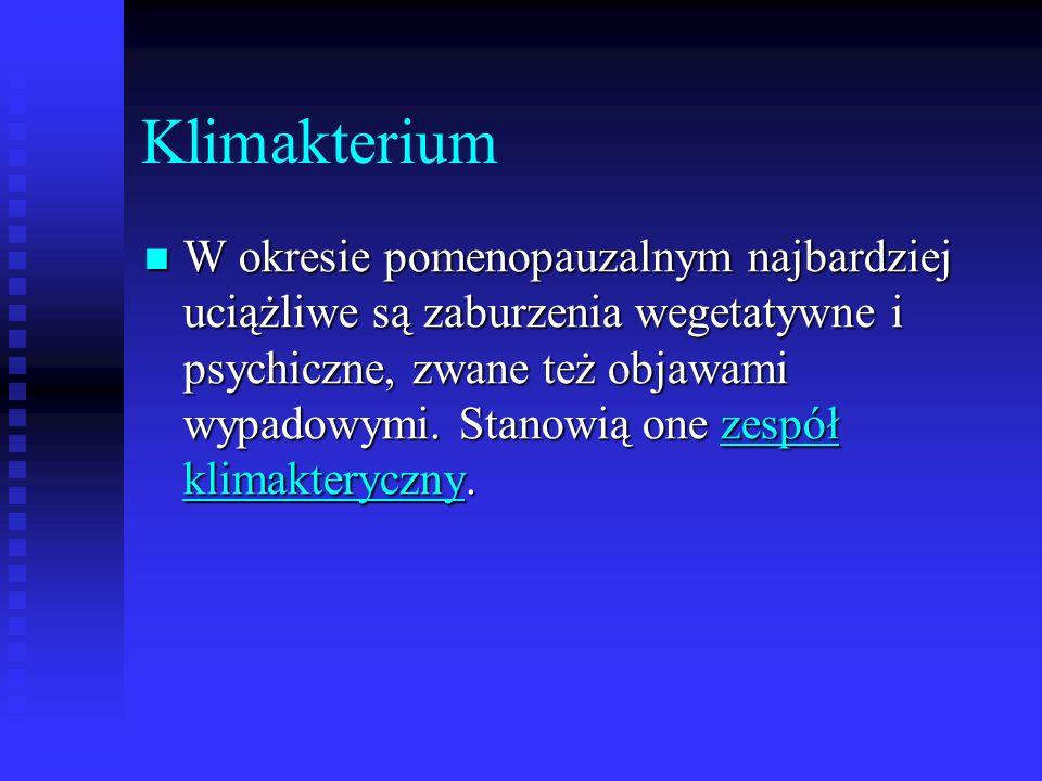 Klimakterium
