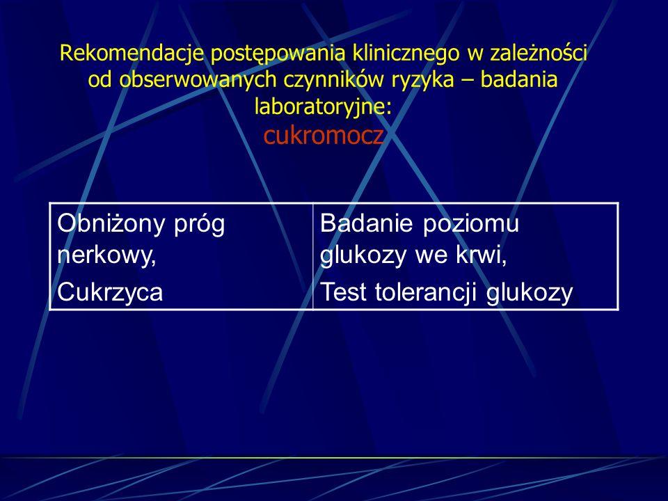 Badanie poziomu glukozy we krwi, Test tolerancji glukozy