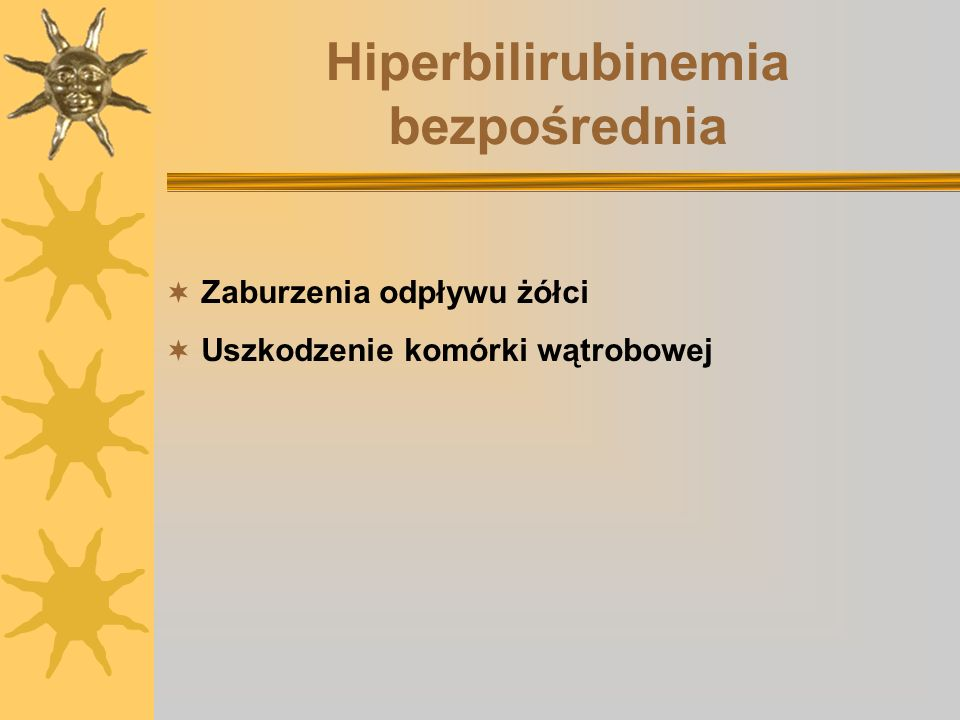 Hiperbilirubinemia bezpośrednia