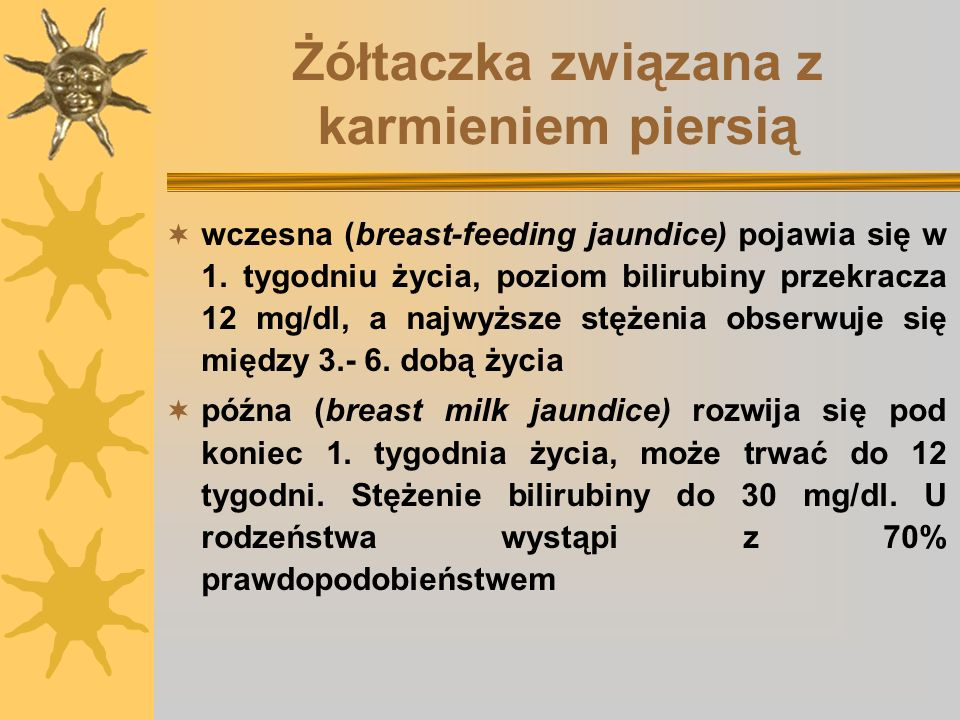 Żółtaczka związana z karmieniem piersią