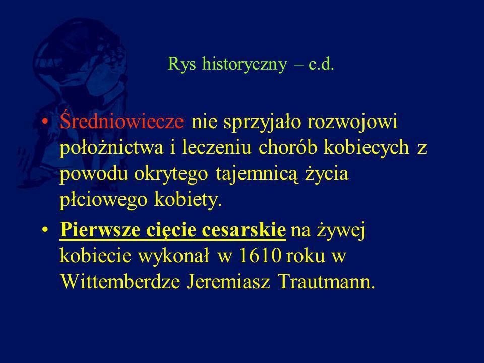 Rys historyczny – c.d.