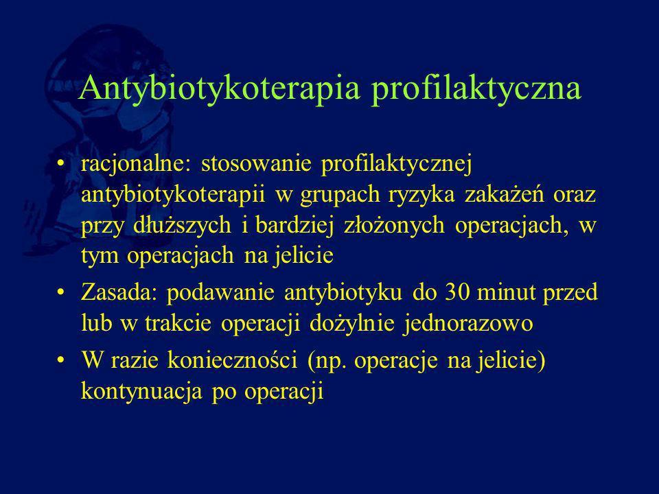 Antybiotykoterapia profilaktyczna