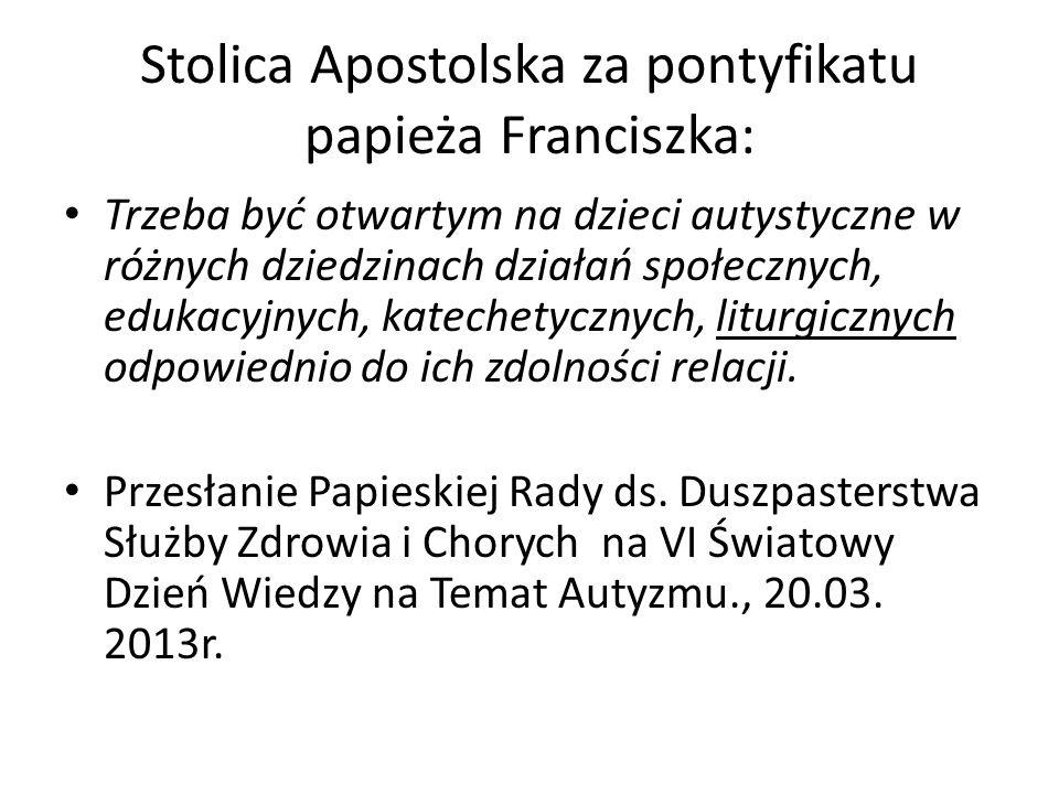 Stolica Apostolska za pontyfikatu papieża Franciszka: