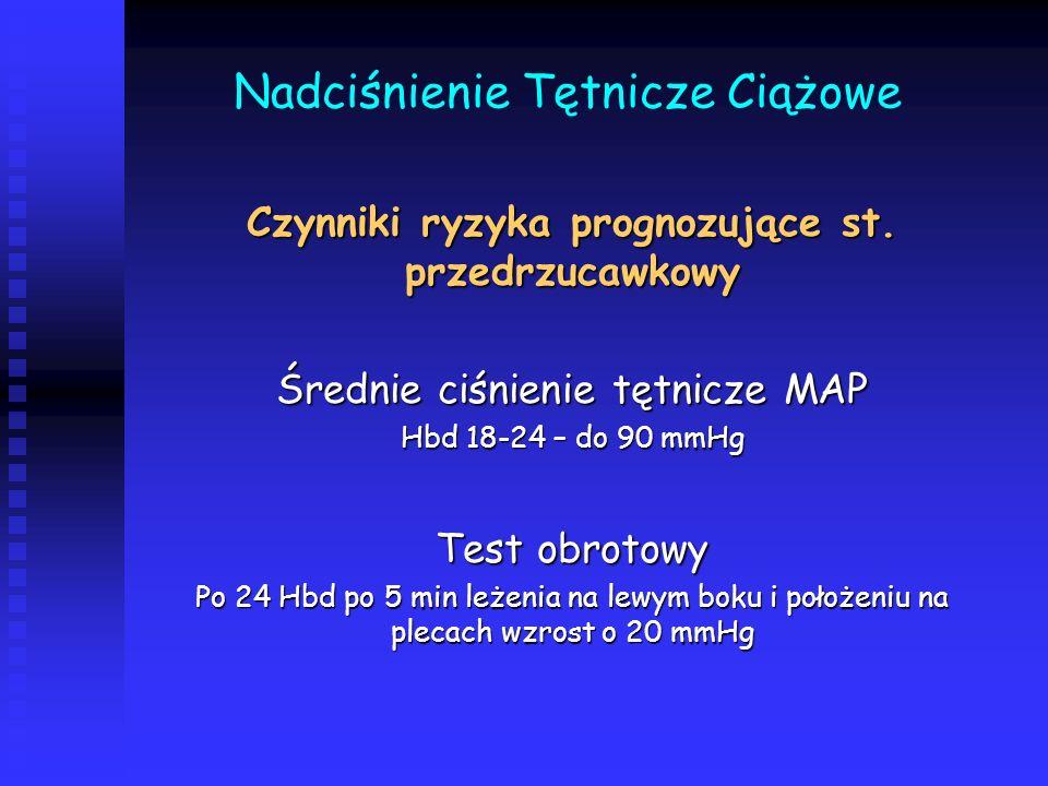 Nadciśnienie Tętnicze Ciążowe