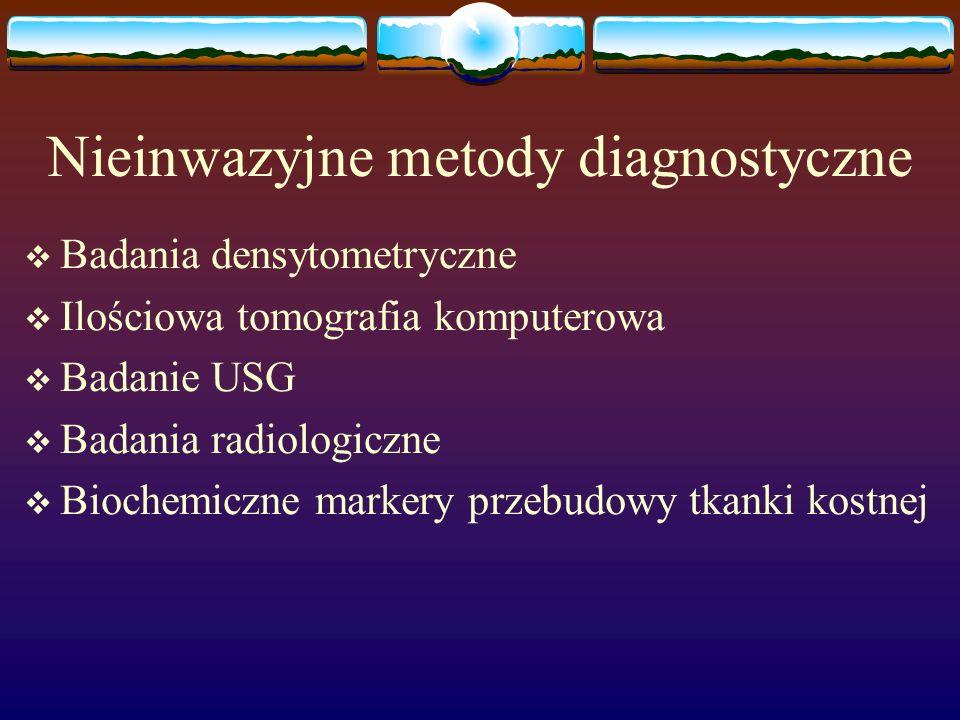 Nieinwazyjne metody diagnostyczne