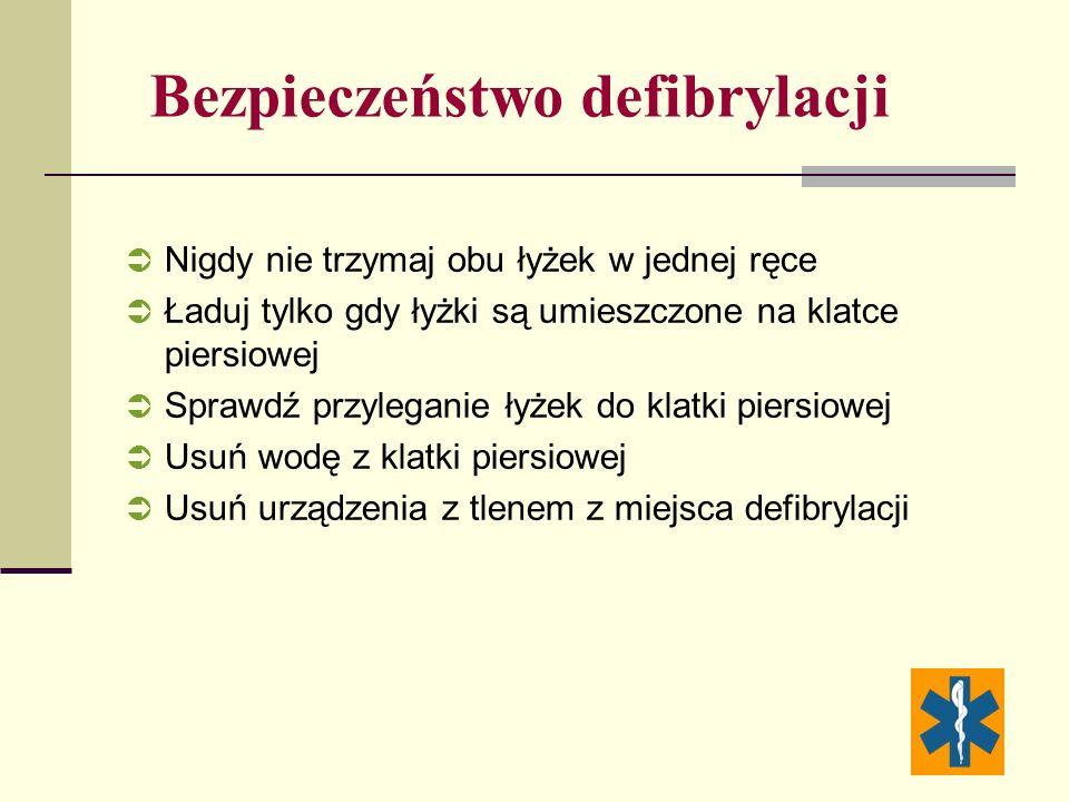 Bezpieczeństwo defibrylacji