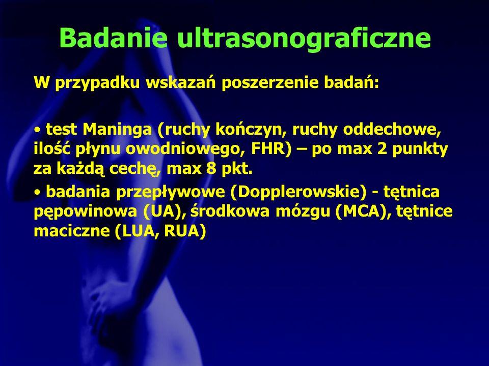 Badanie ultrasonograficzne