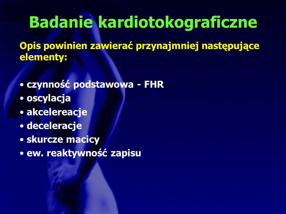 Badanie kardiotokograficzne