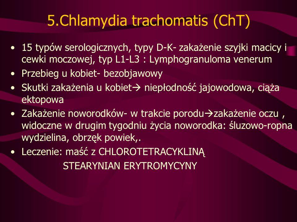 5.Chlamydia trachomatis (ChT)