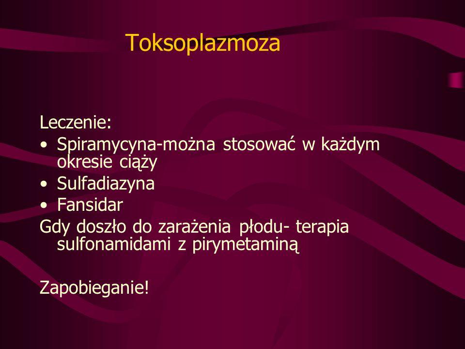 Toksoplazmoza Leczenie:
