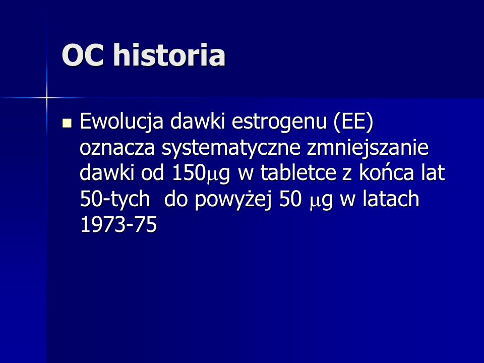 OC historia