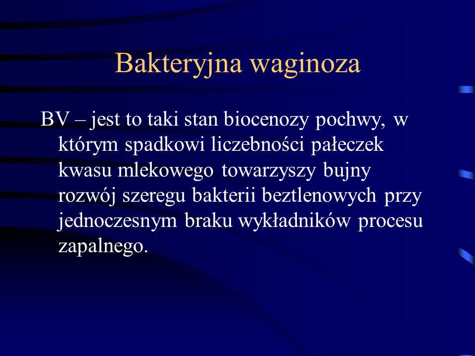 Bakteryjna waginoza