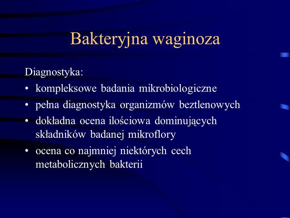 Bakteryjna waginoza Diagnostyka: kompleksowe badania mikrobiologiczne