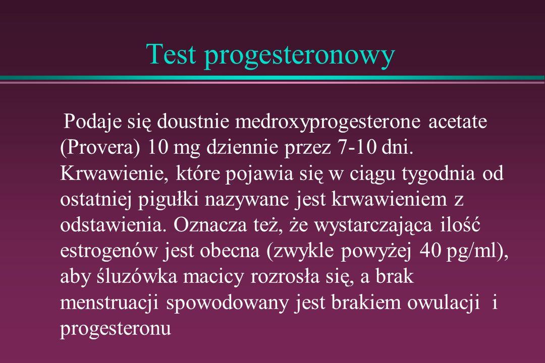 Test progesteronowy