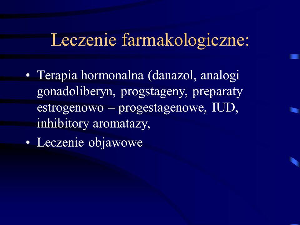 Leczenie farmakologiczne: