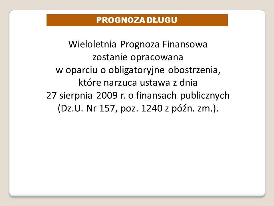 Wieloletnia Prognoza Finansowa zostanie opracowana