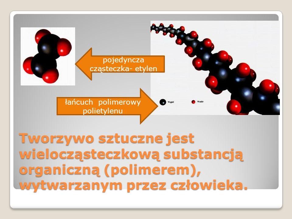 pojedyncza cząsteczka- etylen