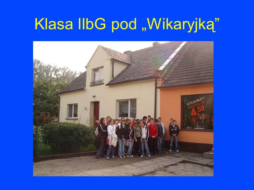 "Klasa IIbG pod ""Wikaryjką"