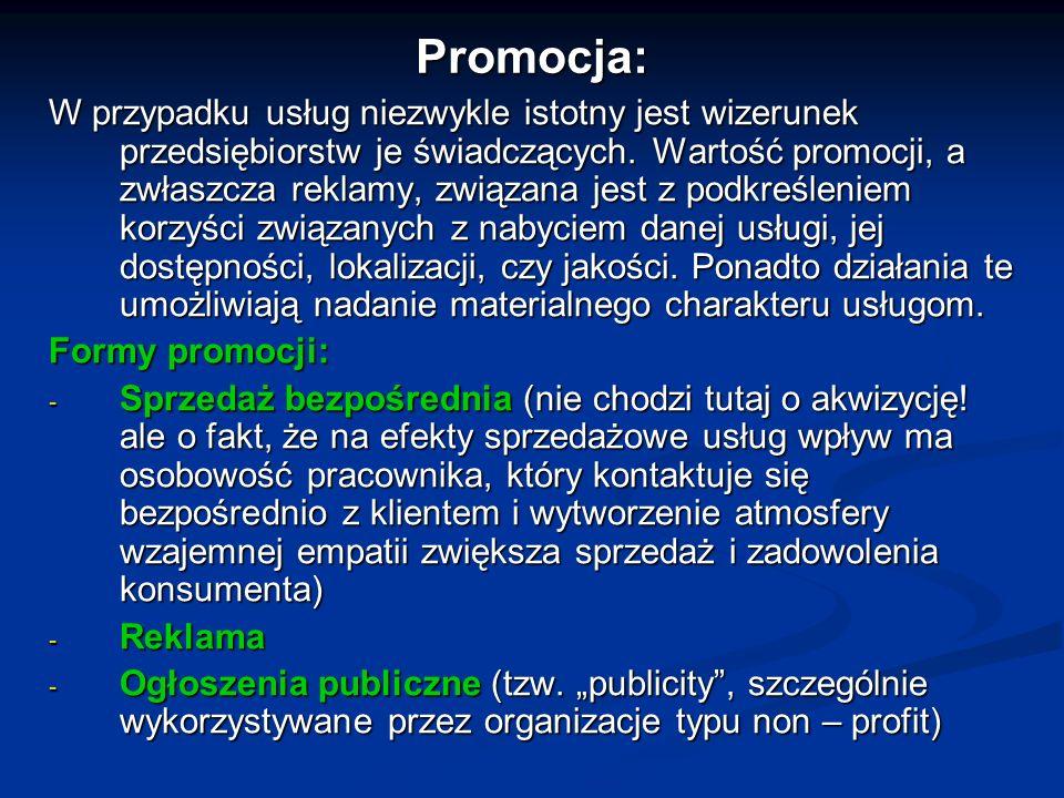 Promocja: