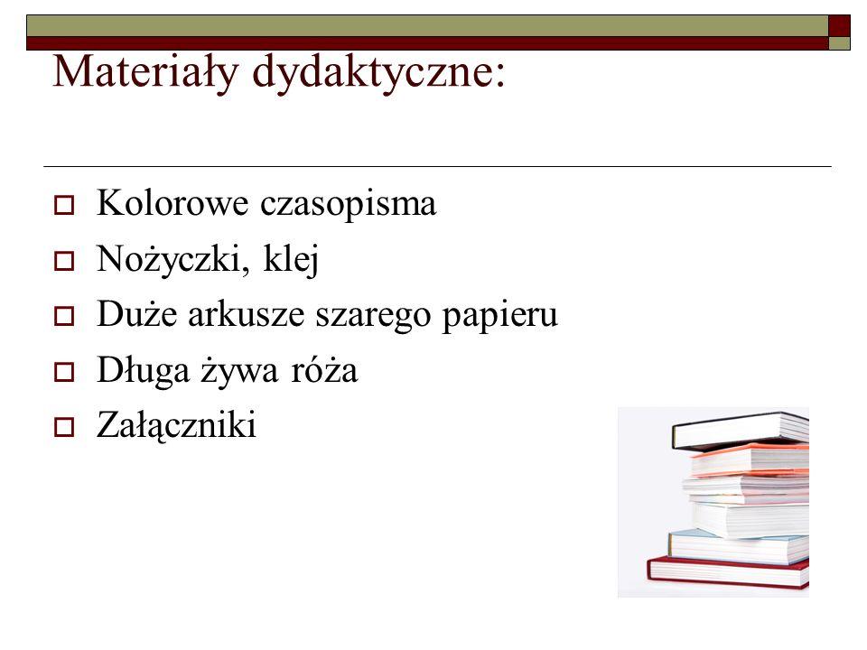 Materiały dydaktyczne: