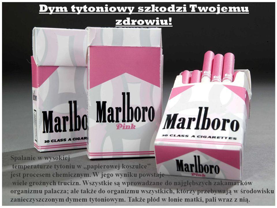 Dym tytoniowy szkodzi Twojemu zdrowiu!