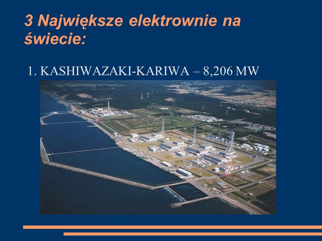 3 Największe elektrownie na świecie: