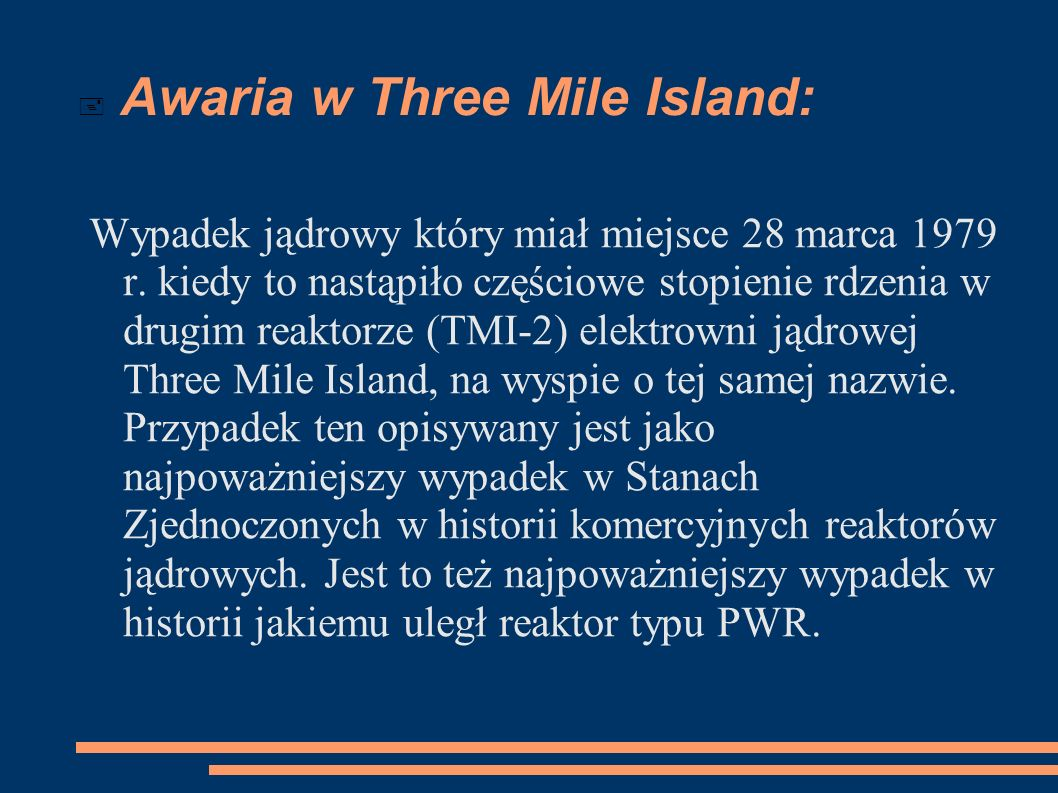 Awaria w Three Mile Island: