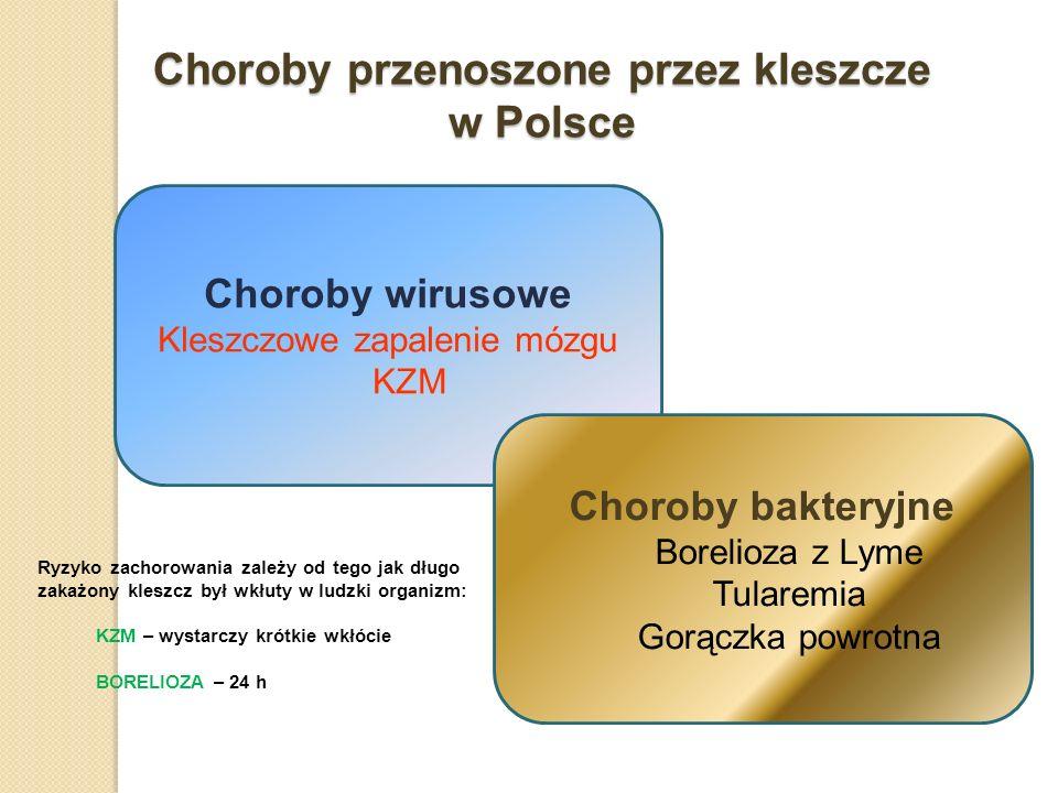 Choroby przenoszone przez kleszcze w Polsce