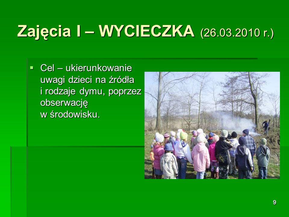 Zajęcia I – WYCIECZKA (26.03.2010 r.)