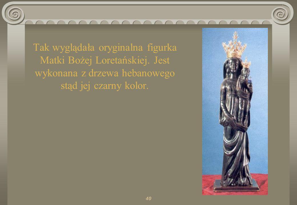 Tak wyglądała oryginalna figurka Matki Bożej Loretańskiej