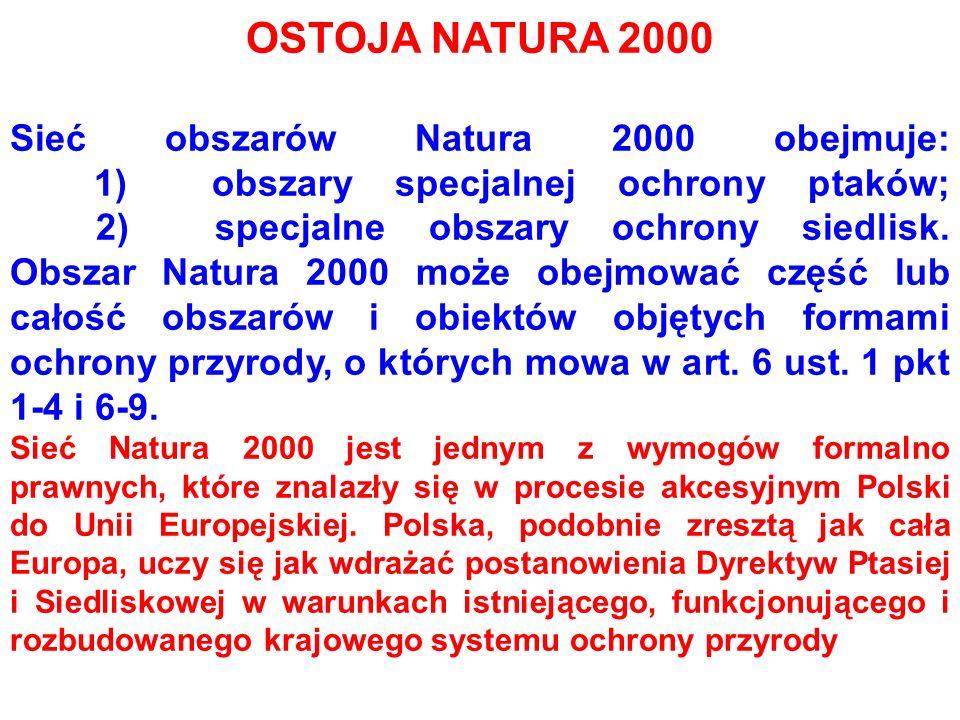 OSTOJA NATURA 2000