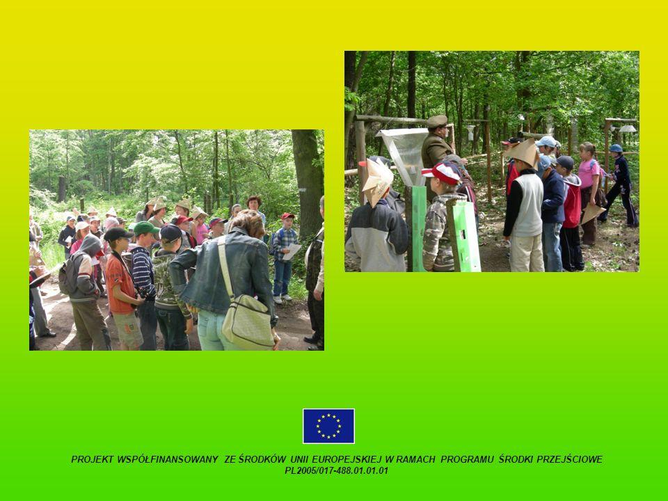 PROJEKT WSPÓŁFINANSOWANY ZE ŚRODKÓW UNII EUROPEJSKIEJ W RAMACH PROGRAMU ŚRODKI PRZEJŚCIOWE PL2005/017-488.01.01.01.