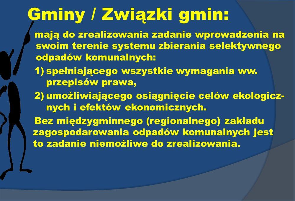 Gminy / Związki gmin: