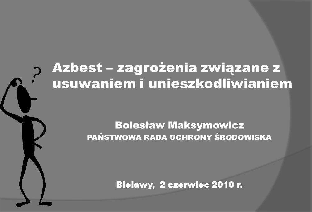 Azbest – zagrożenia związane z usuwaniem i unieszkodliwianiem