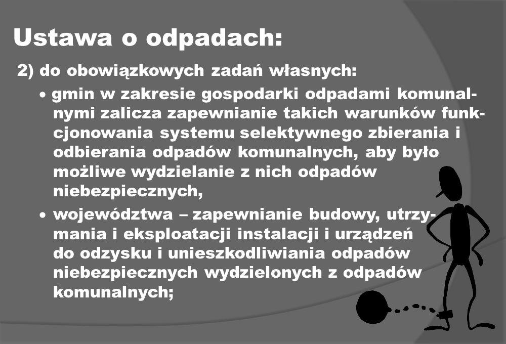 Ustawa o odpadach:
