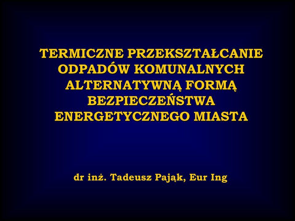 dr inż. Tadeusz Pająk, Eur Ing