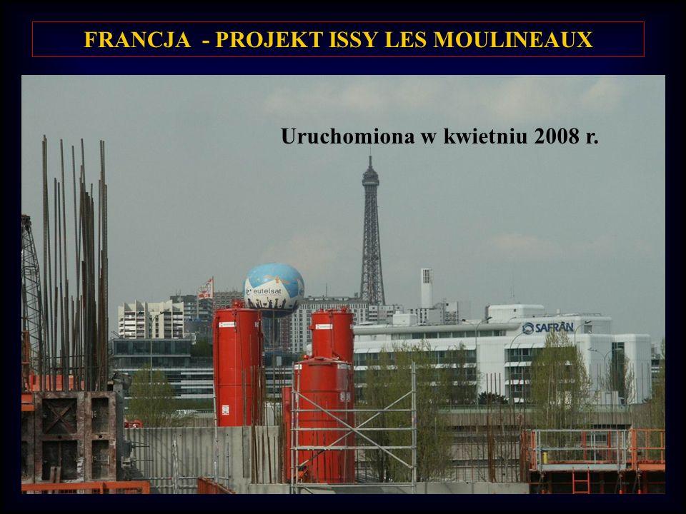 FRANCJA - PROJEKT ISSY LES MOULINEAUX
