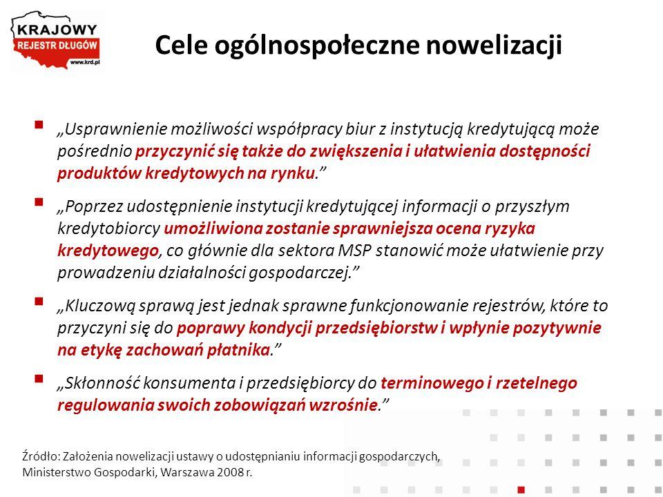 Cele ogólnospołeczne nowelizacji