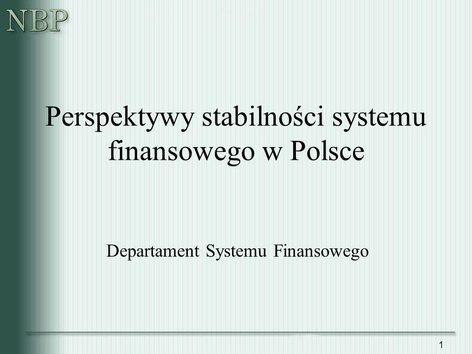 Perspektywy stabilności systemu finansowego w Polsce