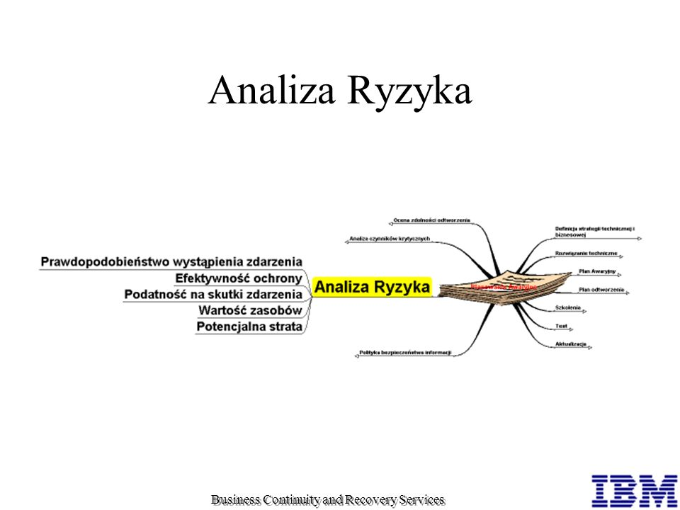 Analiza Ryzyka Business Continuity and Recovery Services
