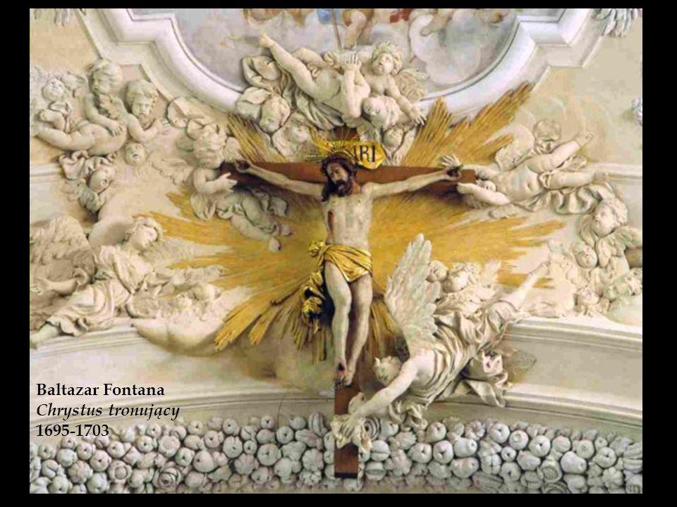 Baltazar Fontana Chrystus tronujący 1695-1703