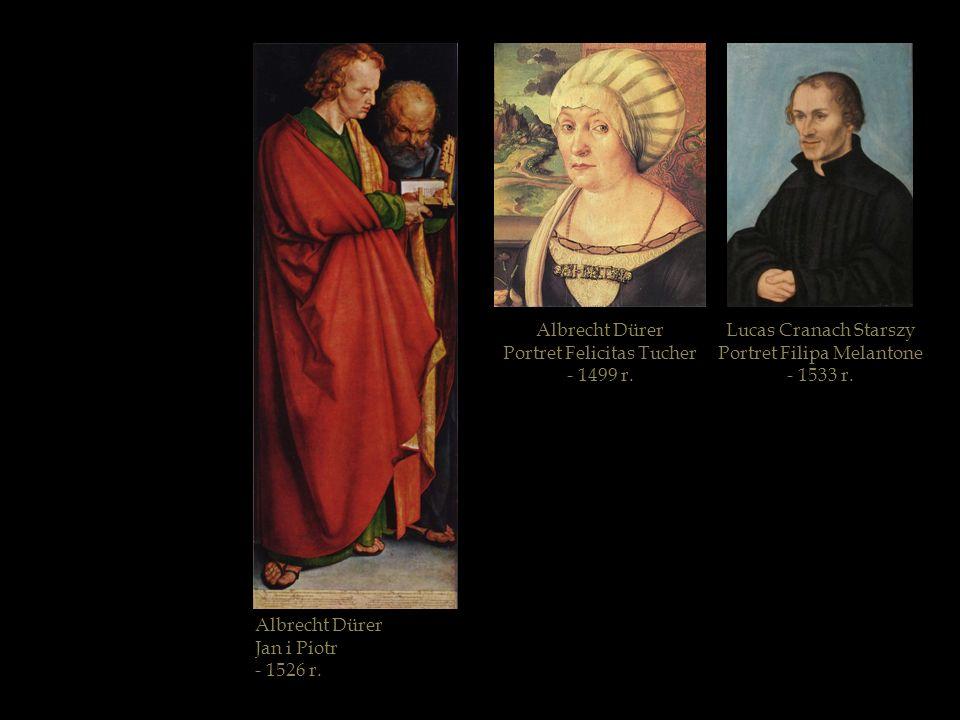 Portret Felicitas Tucher - 1499 r. Lucas Cranach Starszy
