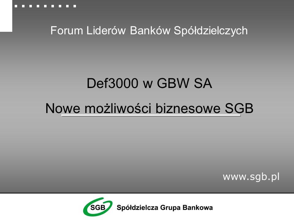 Forum Liderów Banków Spółdzielczych