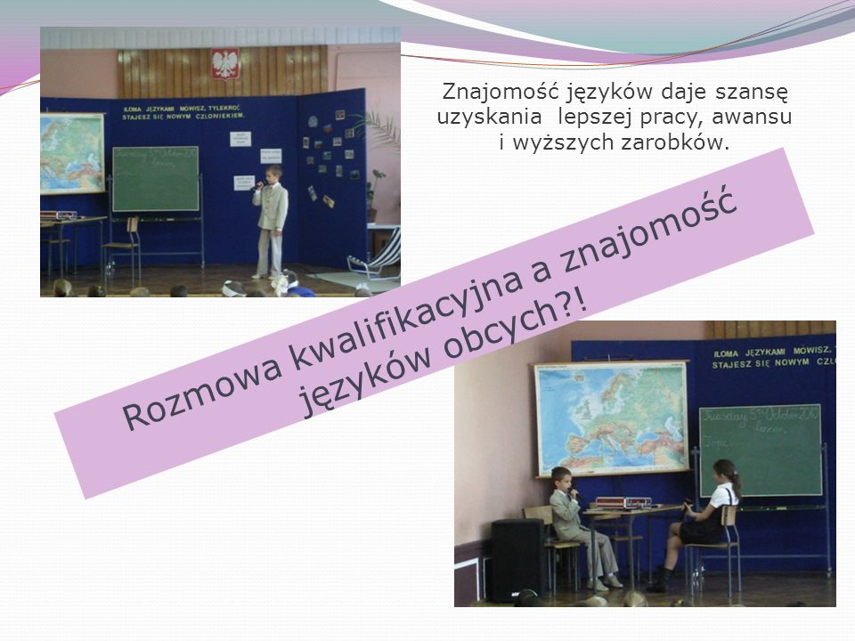 Rozmowa kwalifikacyjna a znajomość języków obcych !